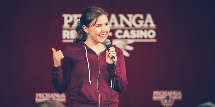 """Comedy show """"Laughs"""" tapes at Pechanga Comedy Club"""