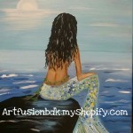 "Artfusion-BDK Painting Class - ""Mermaid"""