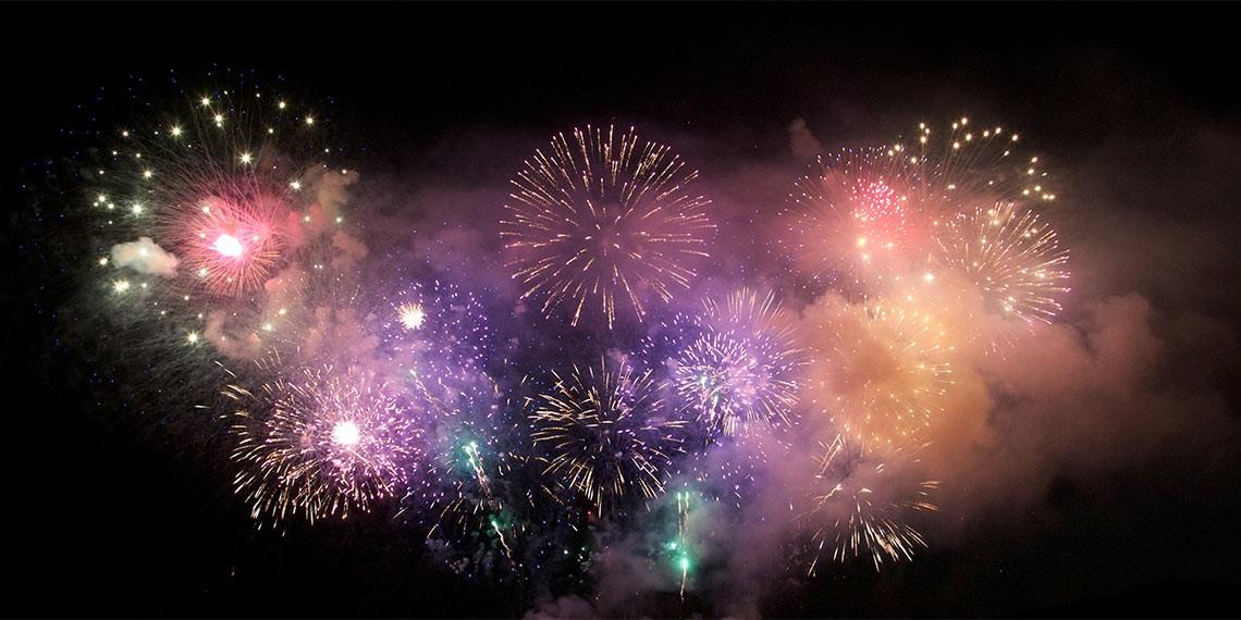 Temecula fireworks display on July 4th