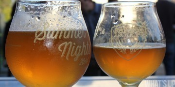Glasses of craft beer from Refuge Brewery