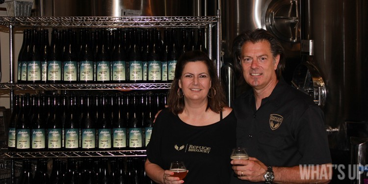 Refuge Brewery owners, Curt and Diane Kucera