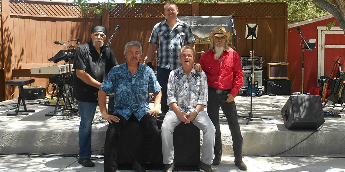 Bodie, a classic rock band, performs in wine country