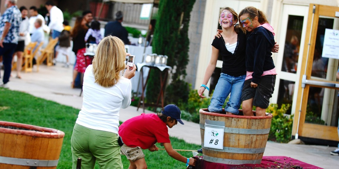 South Coast Blessing of the Wine Grape Stomp & Harvest Festival