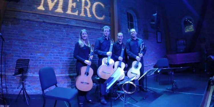 Classics at the Merc presents the Campanella Guitar Quartet