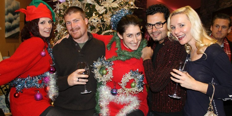 Ugly Sweater Party at Lorimar Vineyards and WInery