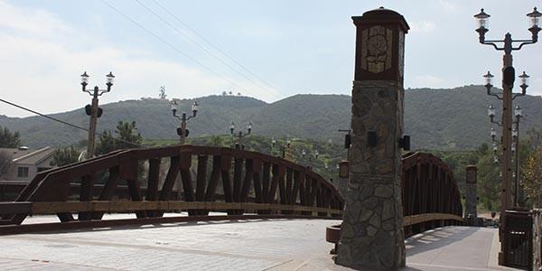 Main Street Bridge in Old Town Temecula