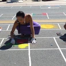 Promenade Temecula Hosts Street Painting Workshop