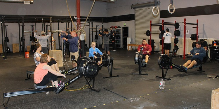 79 South CrossFit training camp