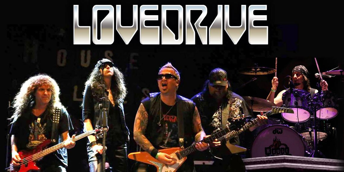 Lovedrive, a Scorpions tribute band, performs at Mount Palomar Winery in Temecula
