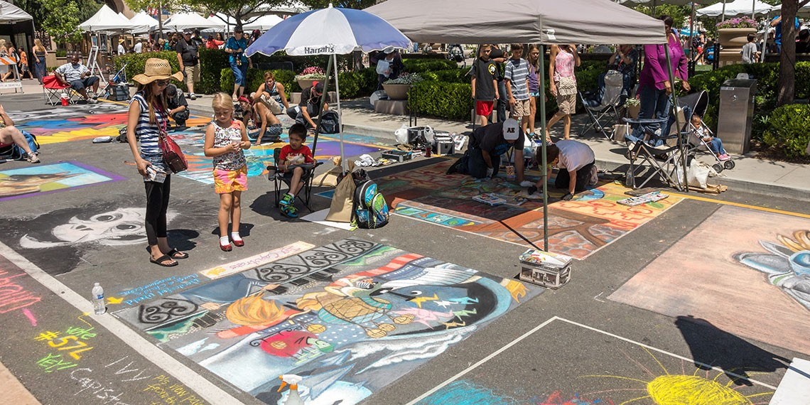 Old Town Temecula Art and Street Painting Festival