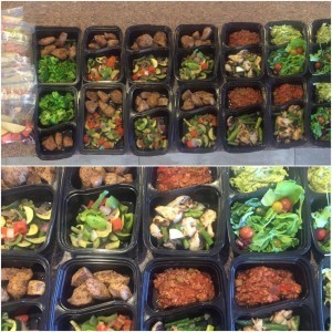 Whole30 meal prep