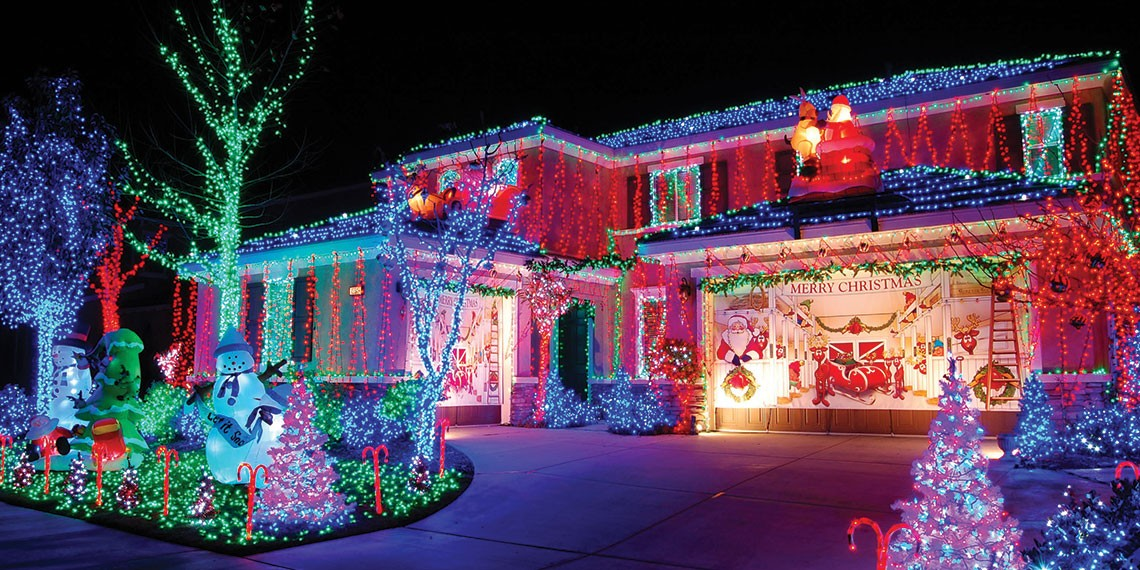 Temecula's 'Twas the Lights Before Christmas home decorating contest