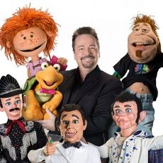 Ventriloquist and Comedian Terry Fator performs at Pechanga